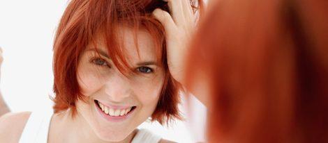 El rojo, un color muy atrevido para el cabello