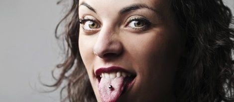 El piercing en la lengua: una cuestión estética
