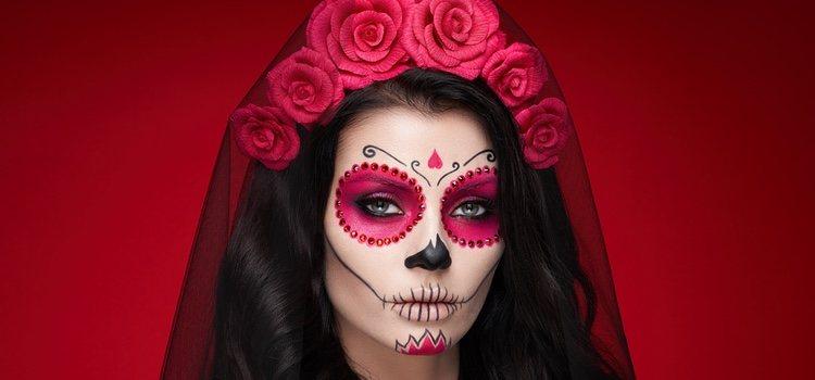Maquillaje de calavera para halloween bekia belleza for Caras pintadas para halloween