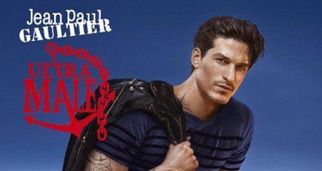 Jarrod Scott se convierte en el nuevo marinero de Jean Paul Gaultier en la campaña de su último aroma: 'Ultra Male'
