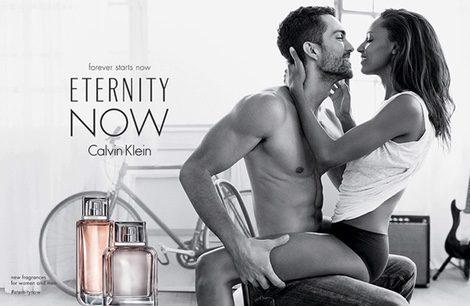 Tobias Sørensen y Jasmine Tookes en la campaña de 'Eternity Now'