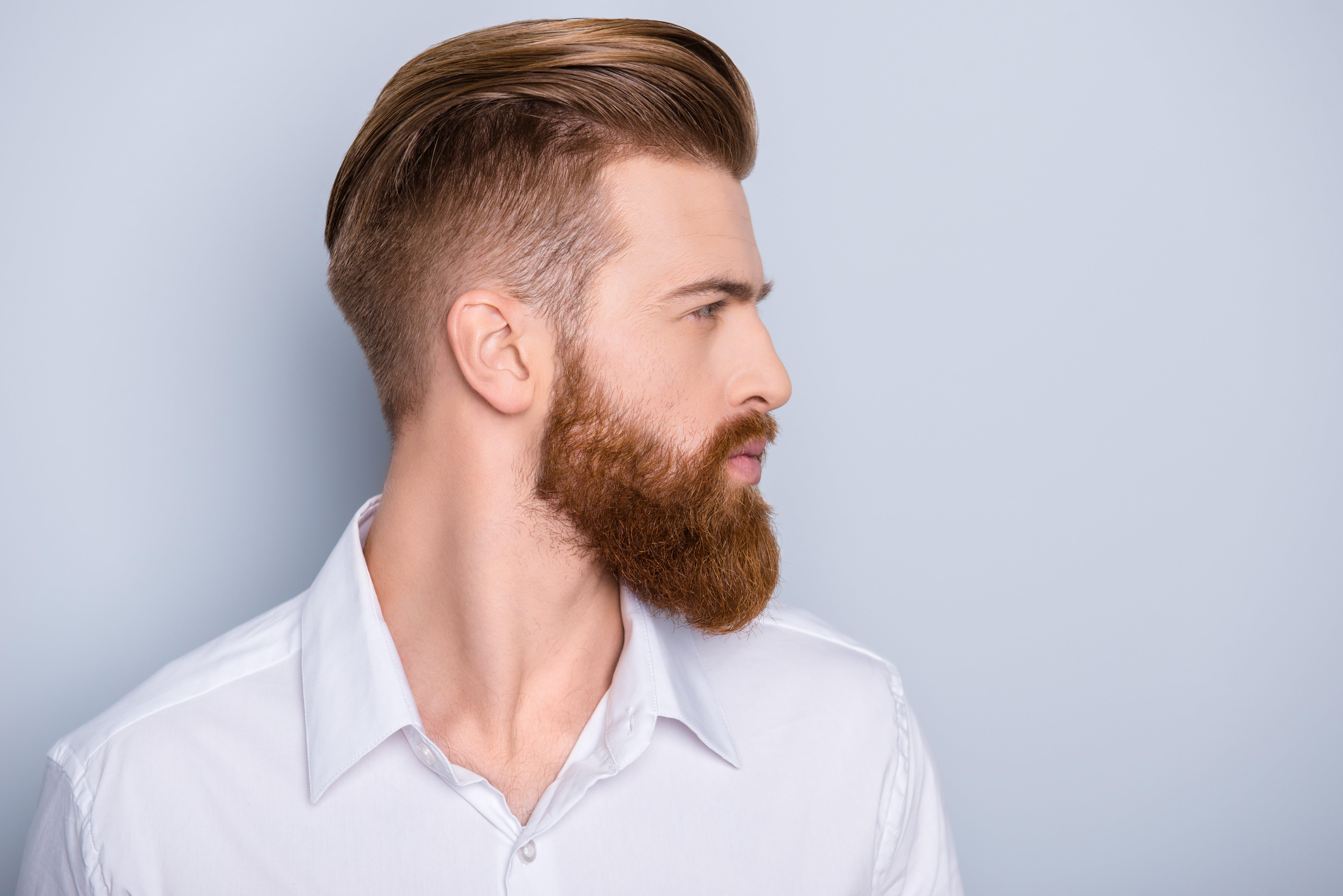 La barba en los hombres es muy sexy y un símbolo de masculinidad
