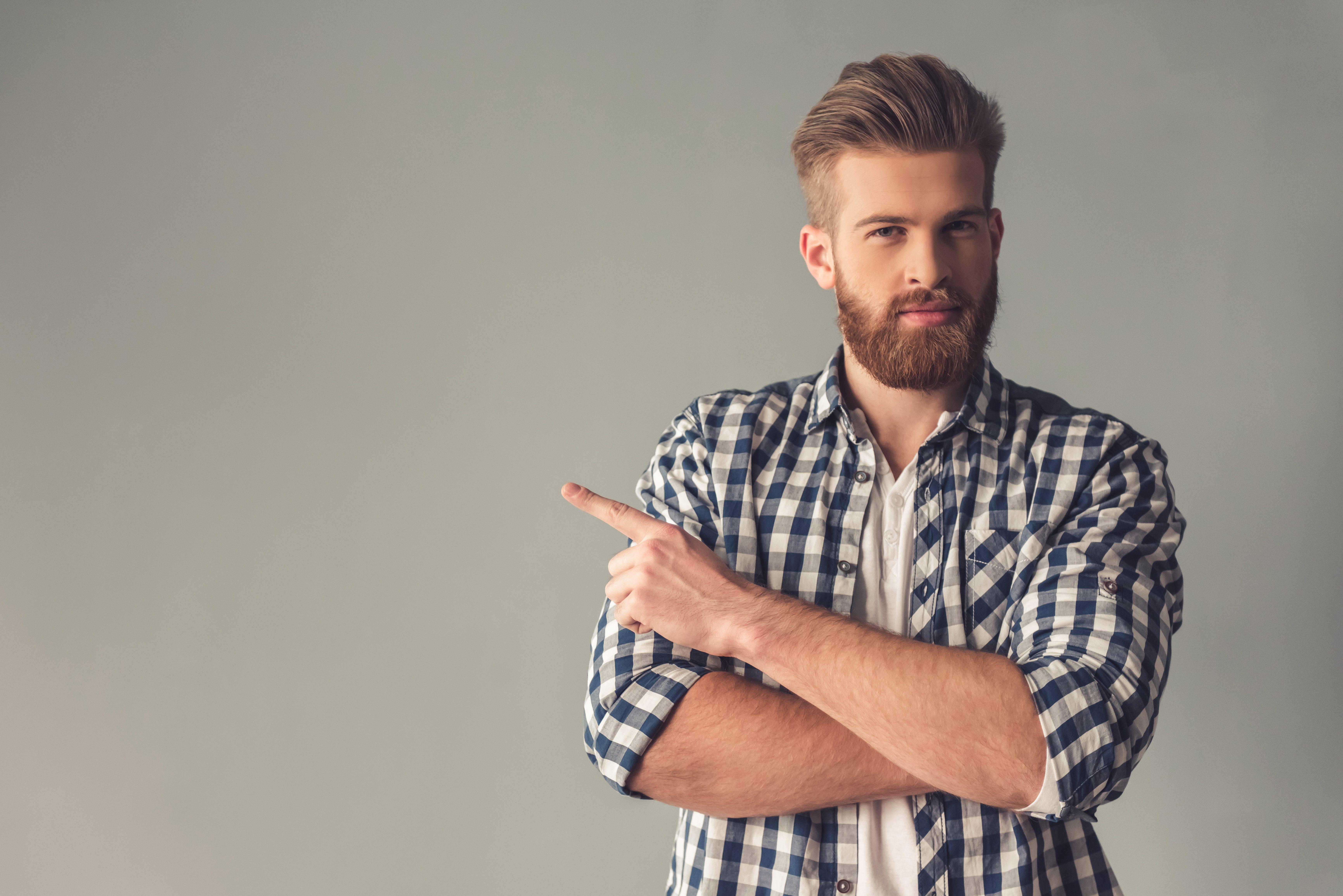 Muchos famosos iconos de la moda ya han apostado por la barba