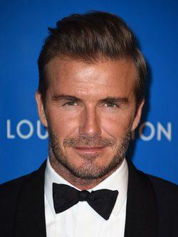 David Beckham con Barba