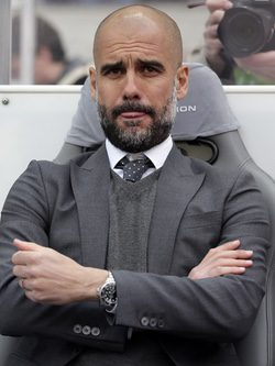 Pep Guardiola con barba