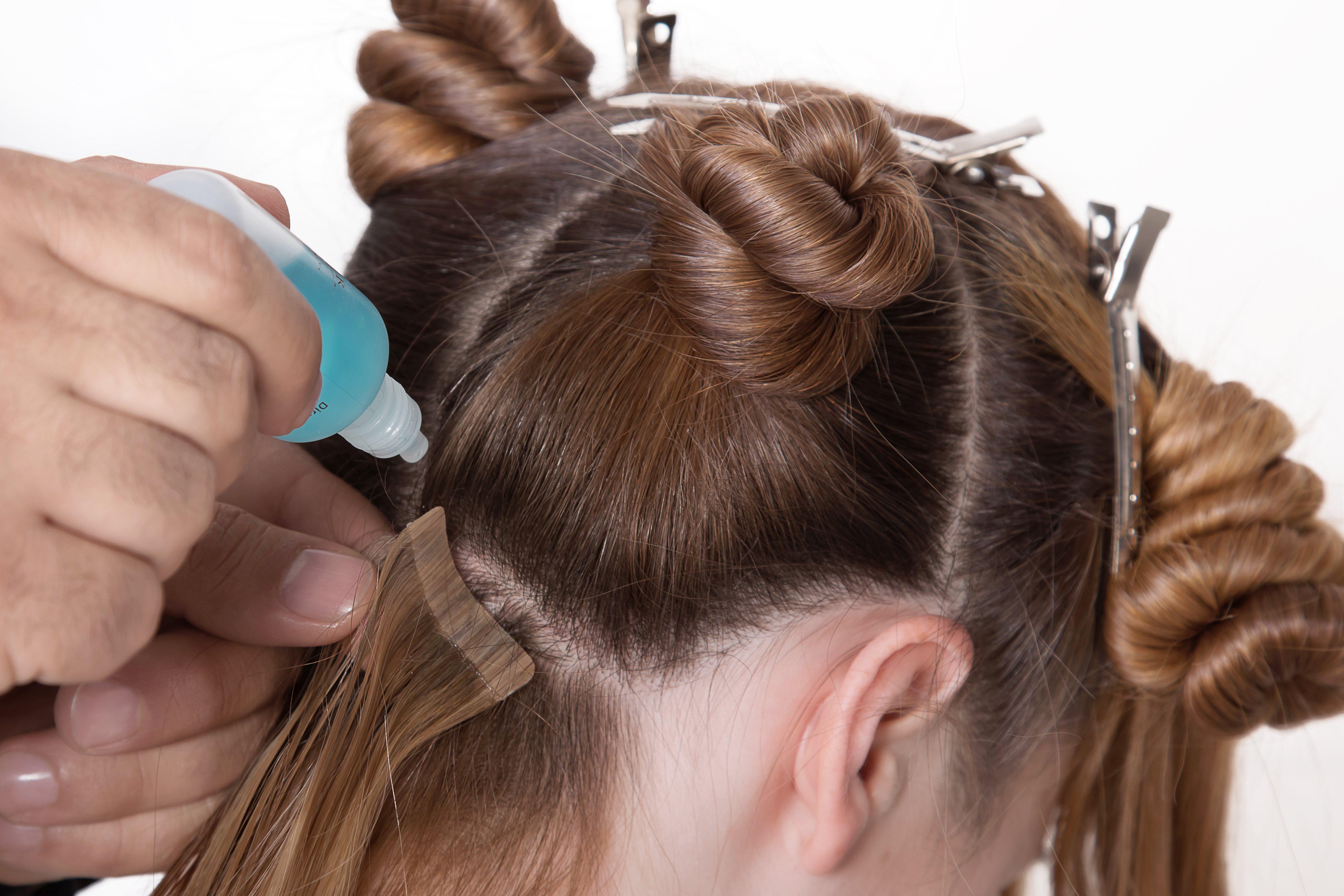 Las extensiones de cabello humano te permiten utilizar el rizador de pelo
