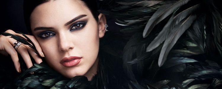 Kendall Jenner en la campaña del nuevo perfume de Estée Lauder