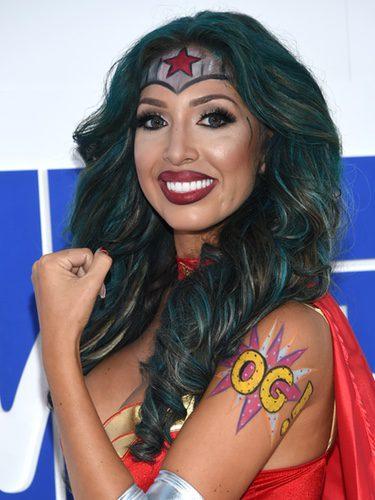 Farrah Abraham disfrazada de Wonder Woman