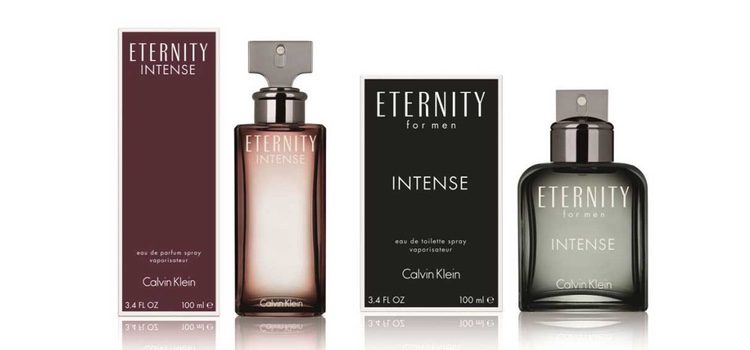 De izq a dch: 'Eternity Intense' y 'Eternity for Men Intense'
