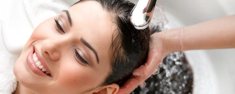 Debes mojar bien tu pelo antes de aplicar el champú