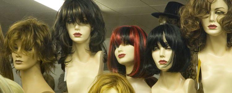 Es importante que la peluca que te compres sea de pelo real