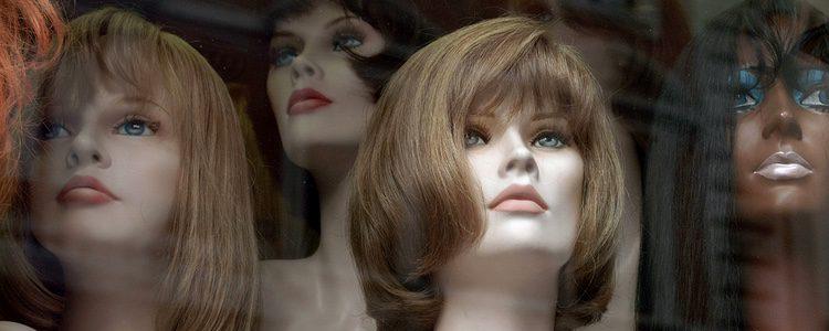 La sujeción de la peluca es fundamental para evitar posibles sustos