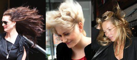 Brook Shield, Pixie Lott y Kate Moss