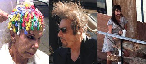 La Duquesa de Alba, Al Pacino y Penélope Cruz