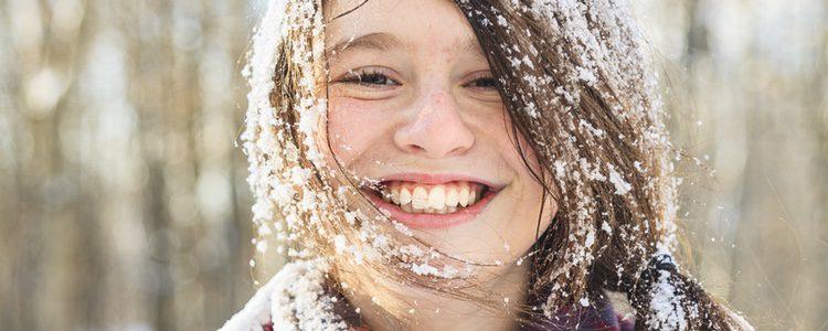 Ir peinada correctamente a la nieve es lo mejor para evitar que el pelo te incomode