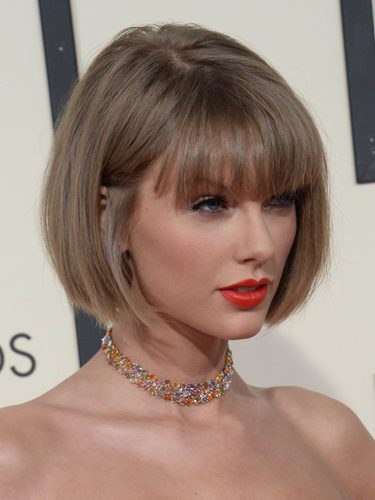 Taylor Swift con corte estilo bob