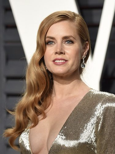 Amy Adams en la fiesta de Vanity Fair