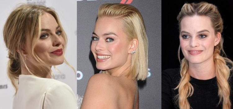 Margot Robbie siempre maquilla sus mejillas de rosa