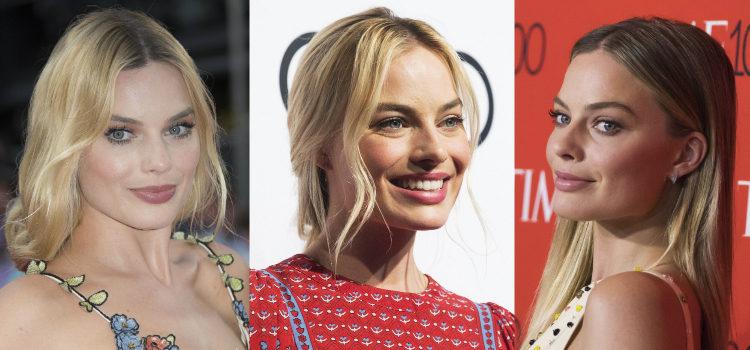 Margot Robbie prefiere los labios nude de acabado cremoso