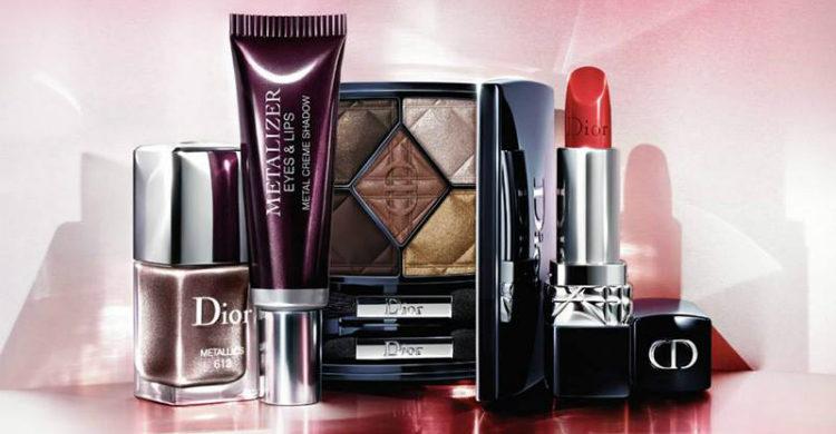 Dior apuesta por los brillos metálicos en su nueva colección de maquillaje para este otoño 2017