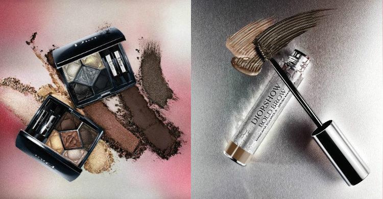 Las sombras de ojos y la máscara de cejas de 'Metallics' de Dior