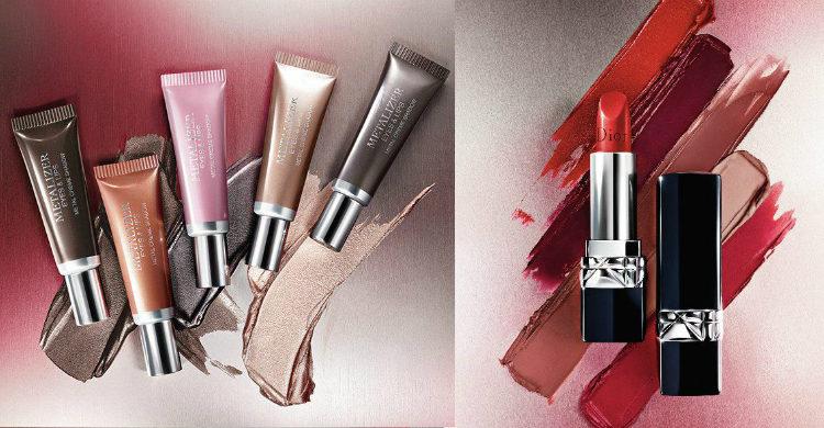 Los labiales de la colección de 'Metallics' de Dior