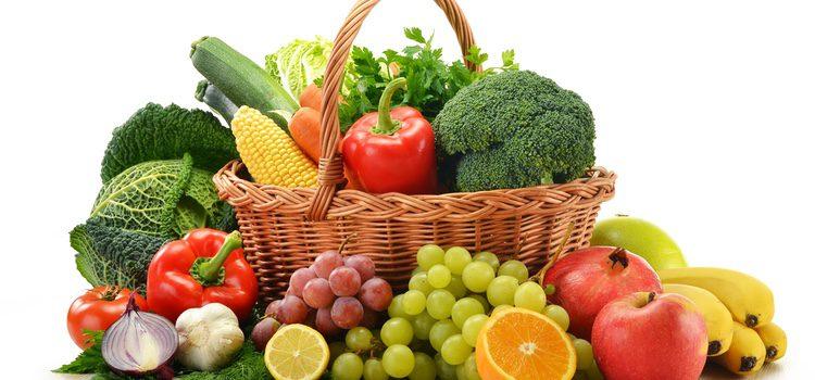La dieta perfecta está compuesta por fruta y verdura