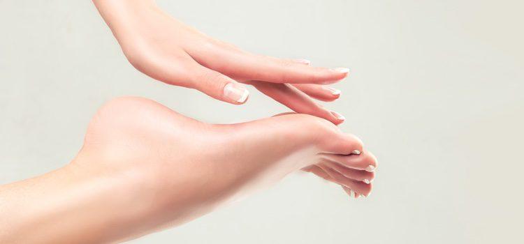 Es importante mantener siempre un buen cuidado de nuestros pies