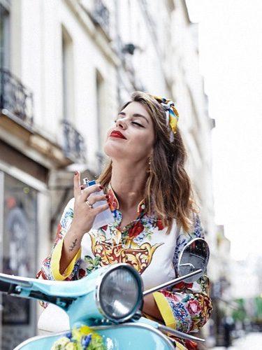 Dulceida como nueva imagen del perfume 'Light Blue Eau Intense' de Dolce & Gabbana