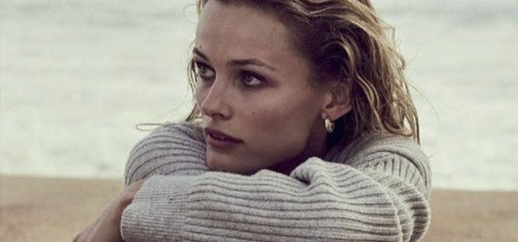 Edita Bilkeviciute para la campaña de 'Sexy Ruby' </p><p> de Michael Kors