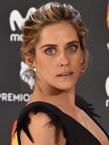 María León, en los Premios Feroz 2017
