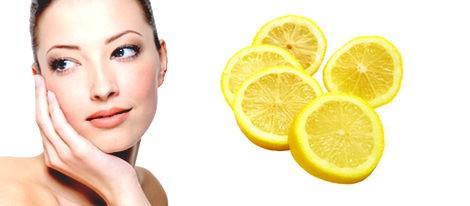 Limón para eliminar las pecas