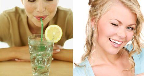 Beber en pajita o guiñar el ojo pueden ser rutinas que afecten a la aparición de arrugas